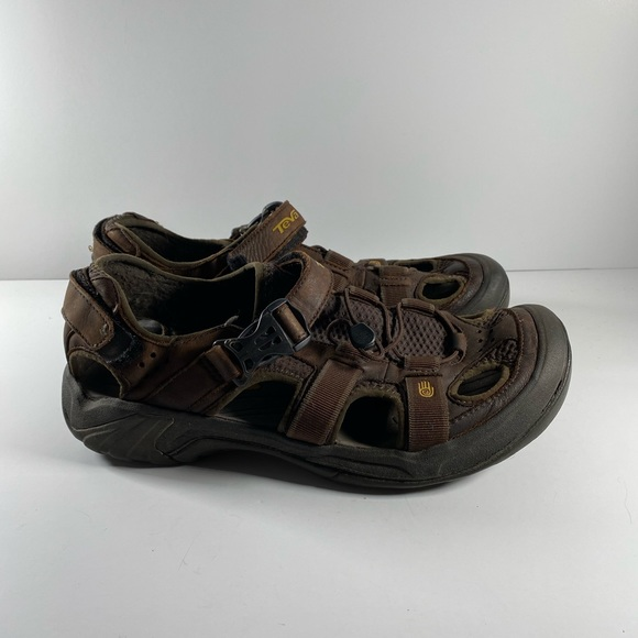 Teva Size 12 Brown Sandals New Mens Shoes